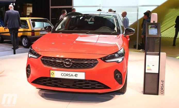 El nuevo Opel Corsa-e en vídeo desde el Salón de Frankfurt 2019