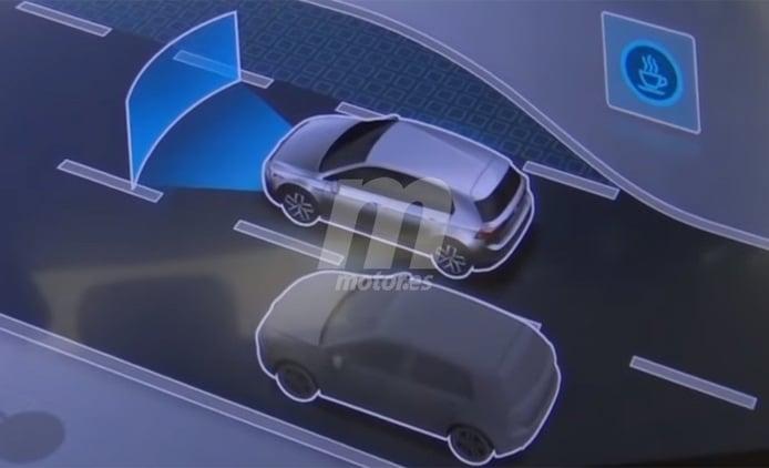 El Volkswagen Golf 8 se deja ver en el sistema de info-entretenimiento del ID.3
