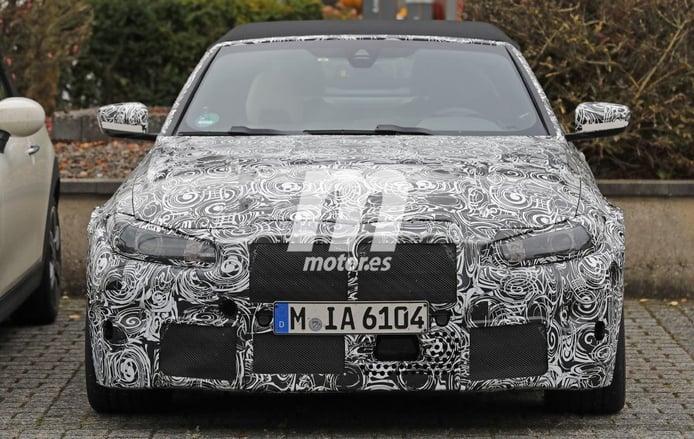 Vistazo más cercano al nuevo BMW M4 Cabrio 2021 en estas nuevas fotos espías