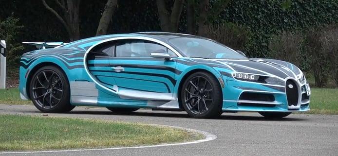 Nuevo one-off del Bugatti Chiron Sport al descubierto