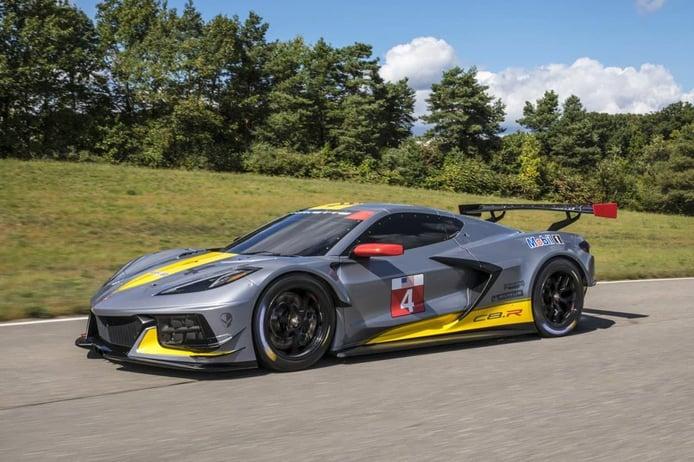 Chevrolet presenta de forma oficial el nuevo Corvette C8.R GTE