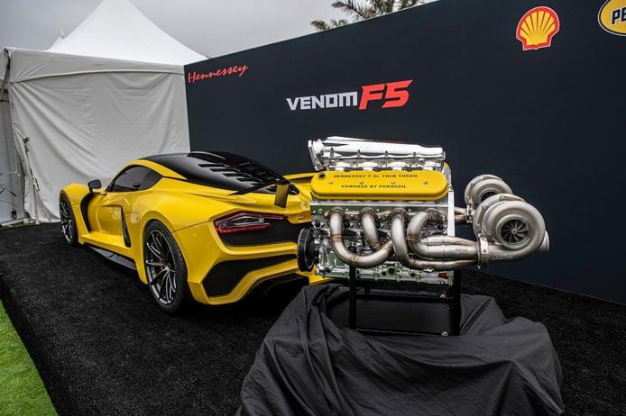 El Hennessey Venom F5 finalmente tendrá más de 1.800 CV
