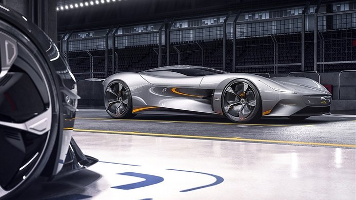 Jaguar Vision Gran Turismo Coupé, eléctrico y digital