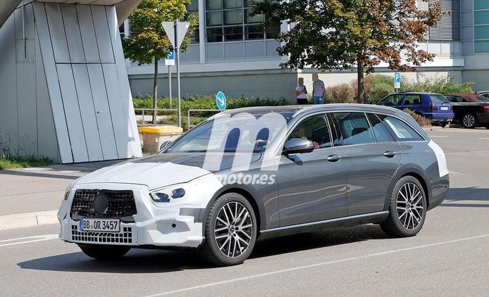 El nuevo Mercedes Clase E All-Terrain 2020 se deja ver a plena luz del día