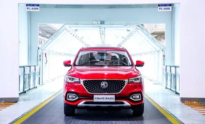 La producción del MG HS que llegará a Europa ya está en marcha