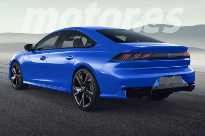 Recreación del Peugeot 508 Peugeot Sport Engineered