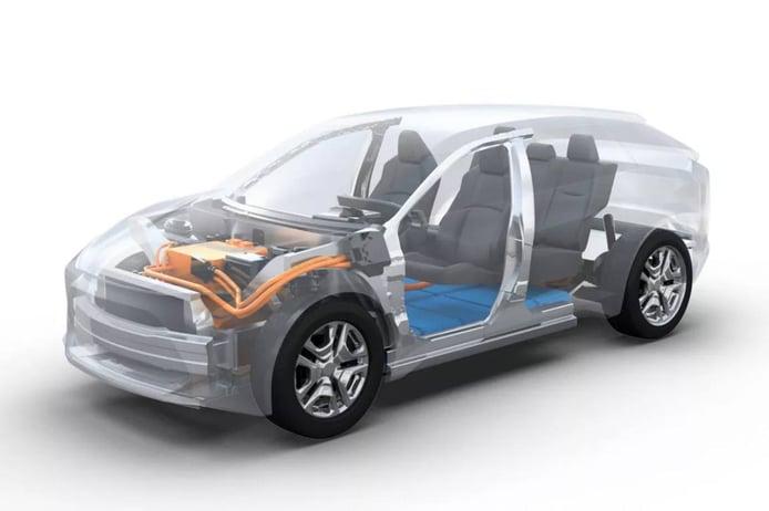 e-TGNA, la nueva plataforma de eléctricos de Toyota y sus cualidades