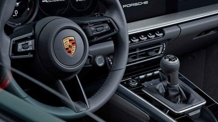 La gama 2020 del Porsche 911 ofrecerá una transmisión manual de 7 velocidades