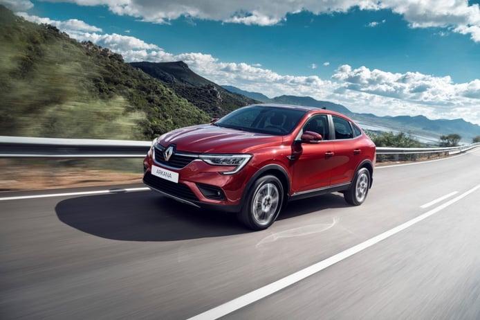 Renault venderá el Arkana en Francia, a partir de 2021