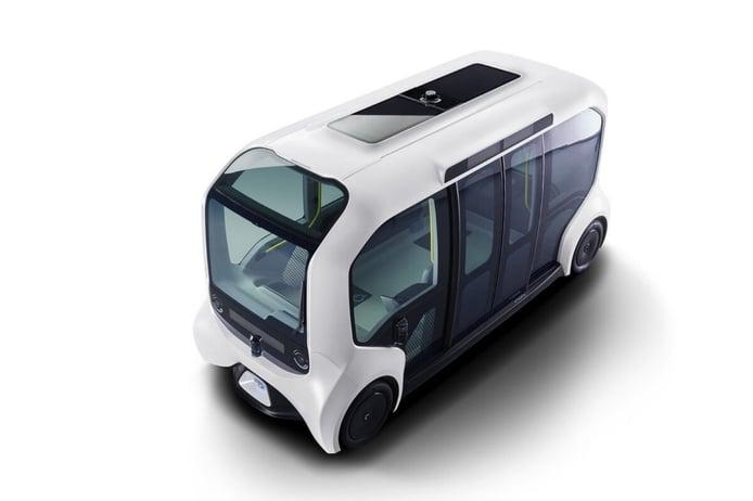 Toyota e-Palette: eléctrico, autónomo y compartido para los Juegos Olímpicos de Tokio 2020