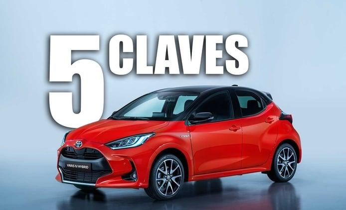 Las 5 claves del nuevo Toyota Yaris, el utilitario híbrido estrena generación
