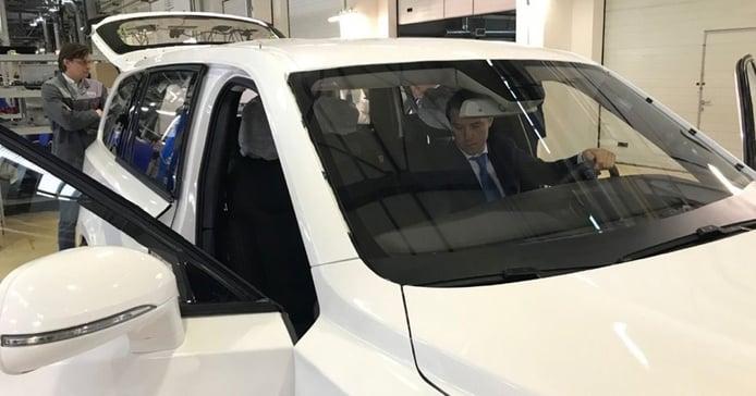Una filtración desvela el nuevo Aurus Commander, el SUV ruso