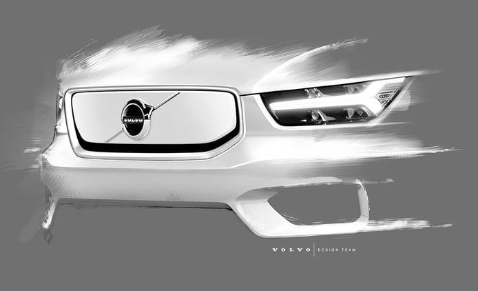 Volvo adelanta nuevos detalles de la versión eléctrica del XC40