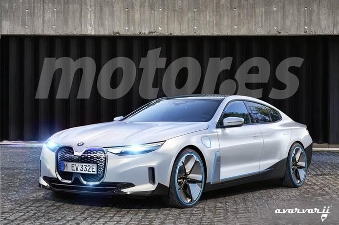 Exclusiva: BMW trabaja en el futuro i6, una berlina eléctrica para 2024