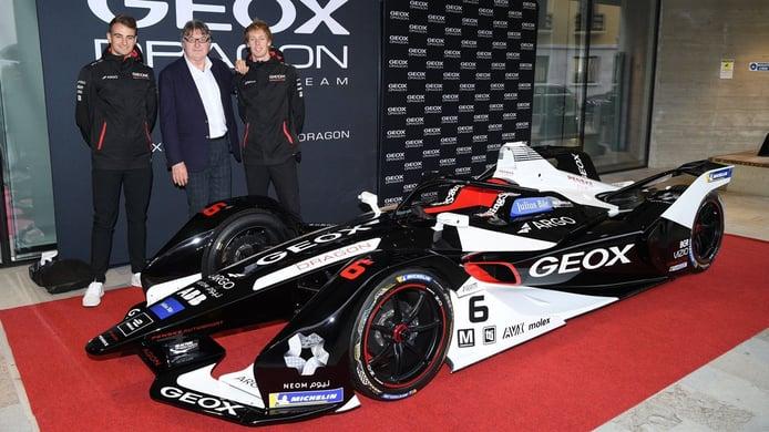 Dragon Racing desvela la librea que lucirá el nuevo Penske EV-4