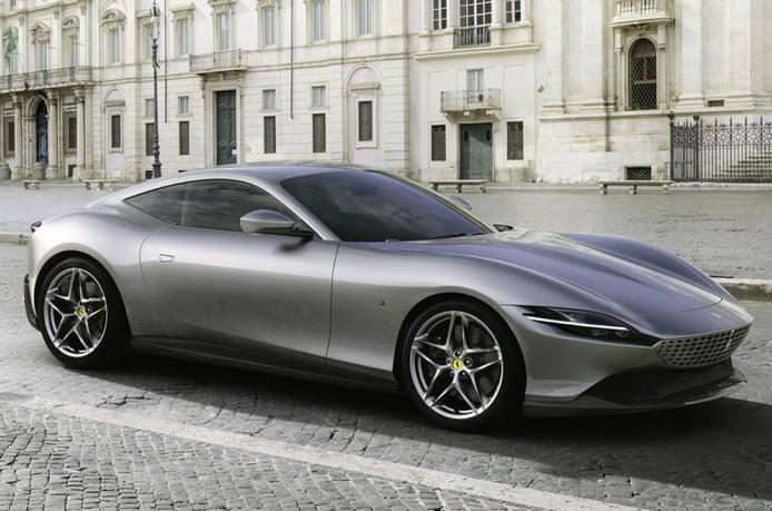 El nuevo Ferrari Roma se destapa con motor delantero de 620 CV