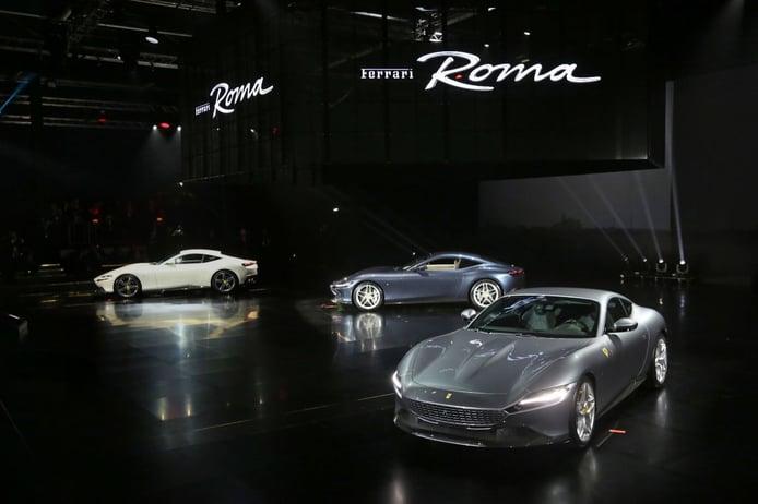 El Ferrari Roma al detalle en sus primeros vídeos