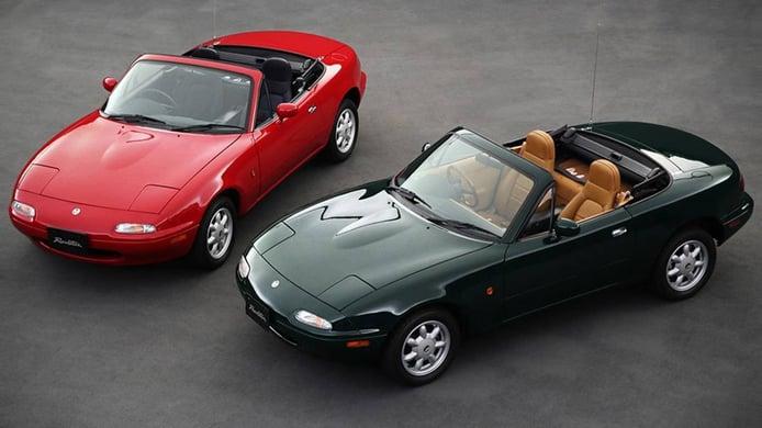 Mazda extiende el programa de restauración del MX-5 NA fuera de Japón
