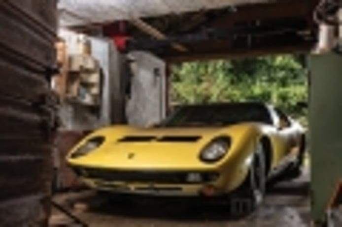 El Lamborghini Miura descubierto en la Selva Negra vendido por 1.6 millones