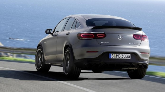 Mercedes-AMG GLC 63 S 4MATIC+ Coupé - posterior