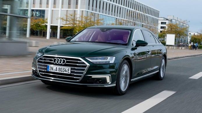 Precios del Audi A8 60 TFSI e quattro, una berlina híbrida enchufable de lujo