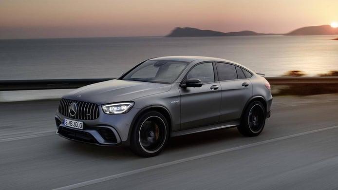 El nuevo Mercedes GLC Coupé también estrena las versiones AMG