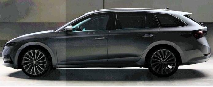 ¡Filtrado! Así es el nuevo Skoda Octavia 2020 con carrocería familiar
