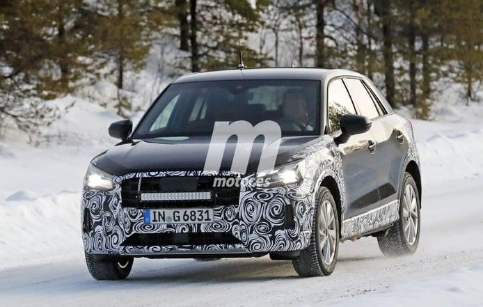 El lavado de cara del Audi Q2 2021 posa en sus primeras fotos espía