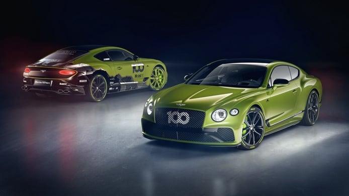 Bentley Continental GT Limited Edition, el más exclusivo homenaje a Pikes Peak