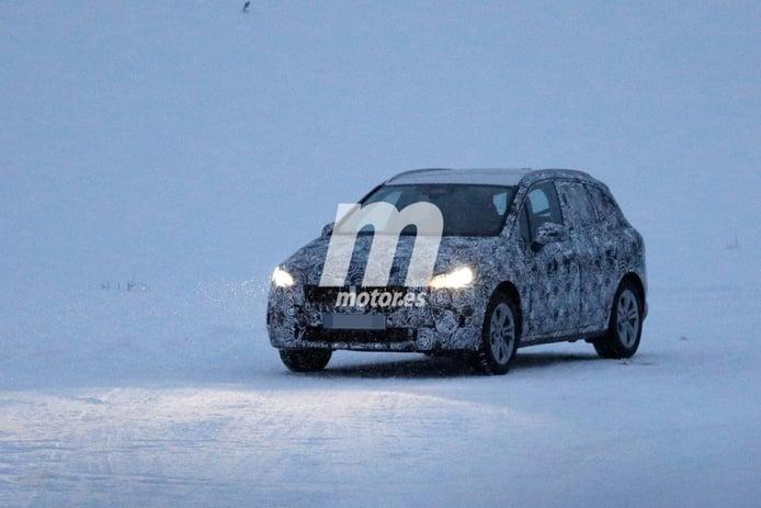 La nueva generación del BMW Serie 2 Active Tourer se traslada a las pruebas de invierno