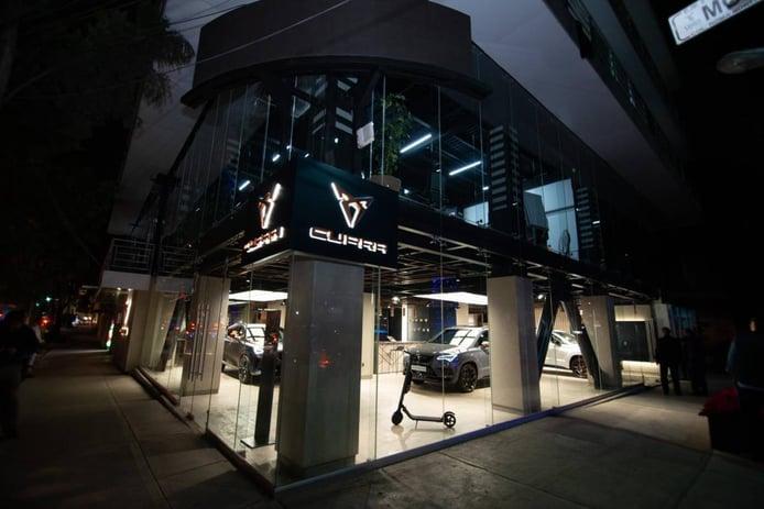 CUPRA inaugura un gran concesionario en Ciudad de México