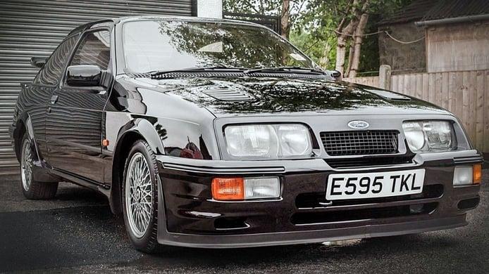 Amores de juventud: el Ford Sierra RS Cosworth