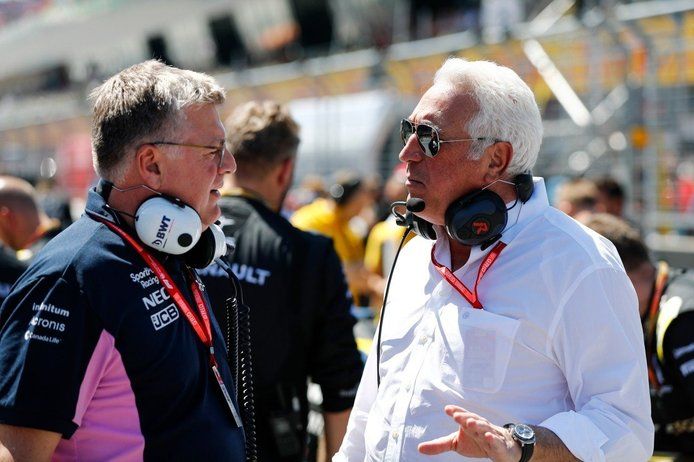 Lawrence Stroll planea convertir Racing Point en el equipo oficial de Aston Martin