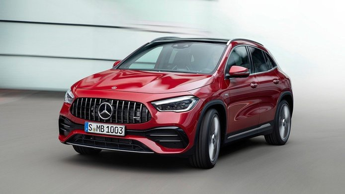 Mercedes-AMG GLA 35 4MATIC 2020, un toque extra de deportividad