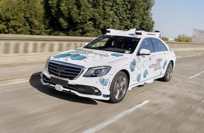 Mercedes y Bosch reciben permiso para pruebas de conducción autónoma de niveles 4 y 5