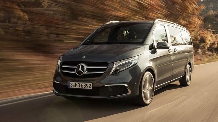 Más conectividad y confort para el Mercedes Clase V y Marco Polo