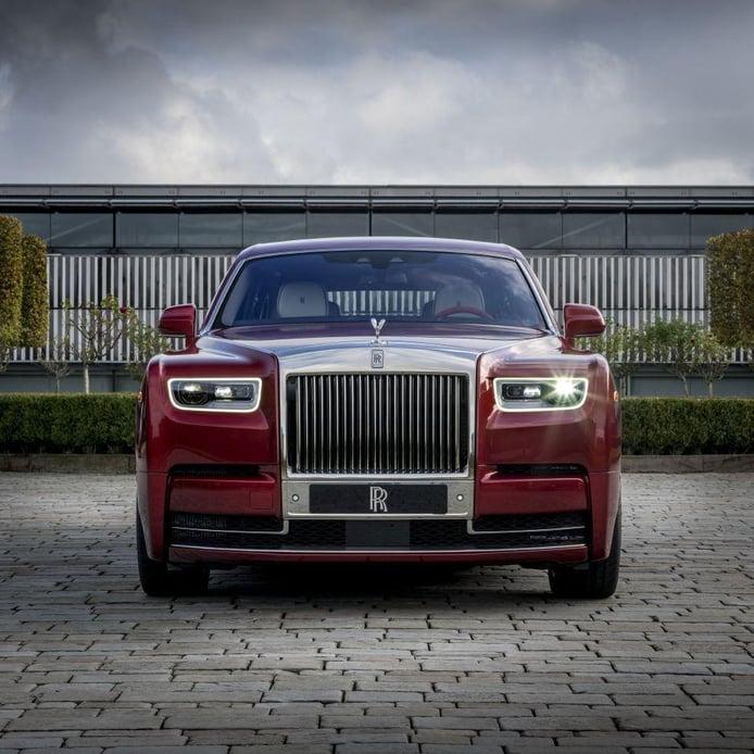 Rolls-Royce Red Phantom, una edición especial por y para una subasta benéfica