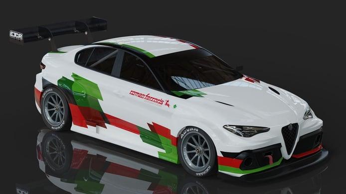 Romeo Ferraris anuncia el desarrollo del Alfa Romeo Giulia ETCR