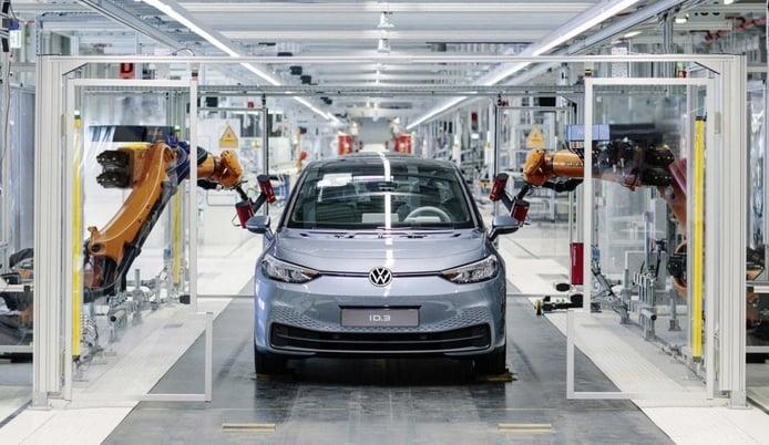 Volkswagen anuncia problemas con el software del nuevo ID.3