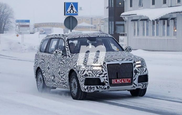 El nuevo Aurus Commander comienza a rodar en las carreteras nevadas del norte de Europa