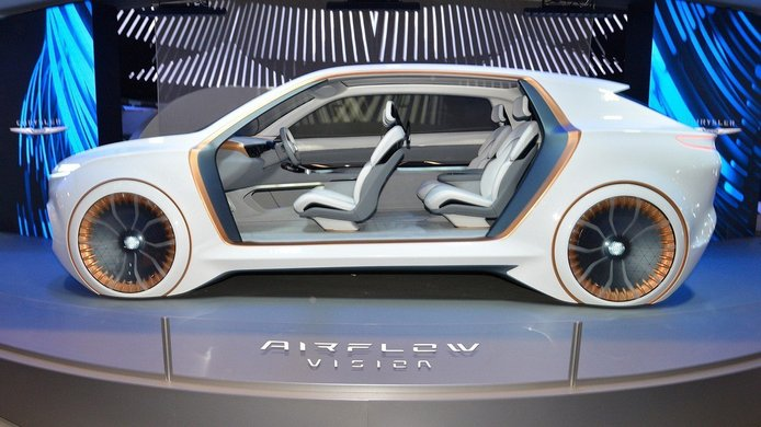 Chrysler Airflow Vision Concept, recuperando una denominación histórica