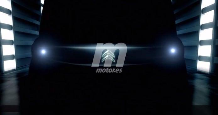 Citroën adelanta un teaser de un nuevo coche eléctrico para 2020