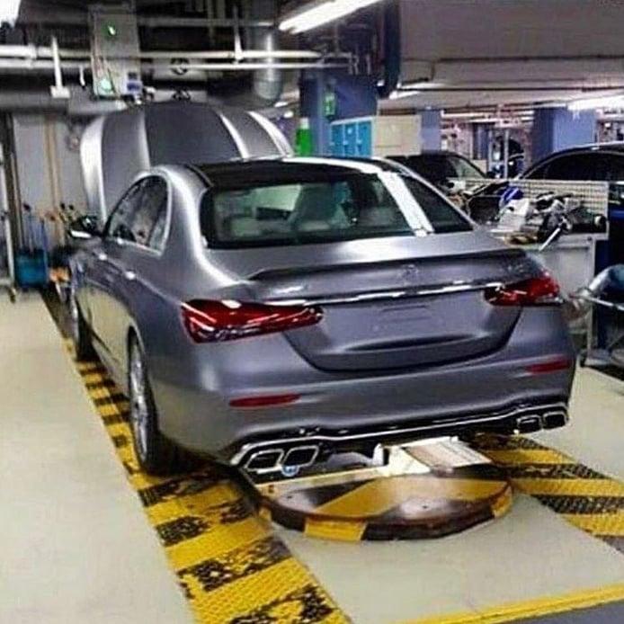 Una filtración desvela el diseño de la parte trasera del nuevo Mercedes-AMG E 63 2020