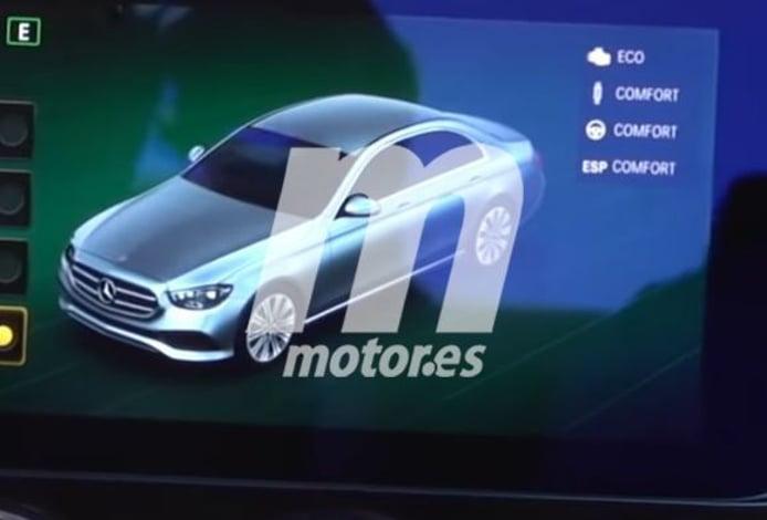 Nueva filtración desvela el diseño frontal del actualizado Mercedes Clase E 2020