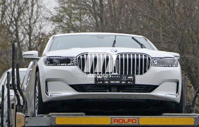 BMW empieza el desarrollo del futuro Serie 7: ¡Primeras fotos espía de la mula!