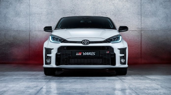 Toyota GR Yaris - frontal