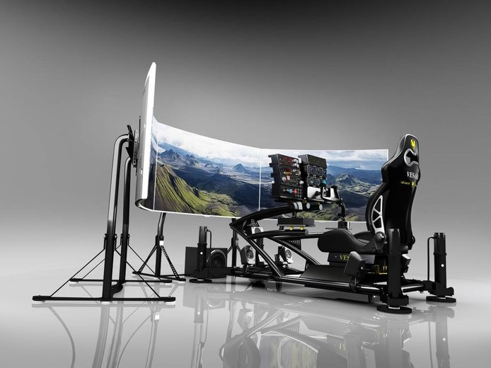Construye tu simulador de coches: volantes, pedales, asientos y todo lo que necesitas saber
