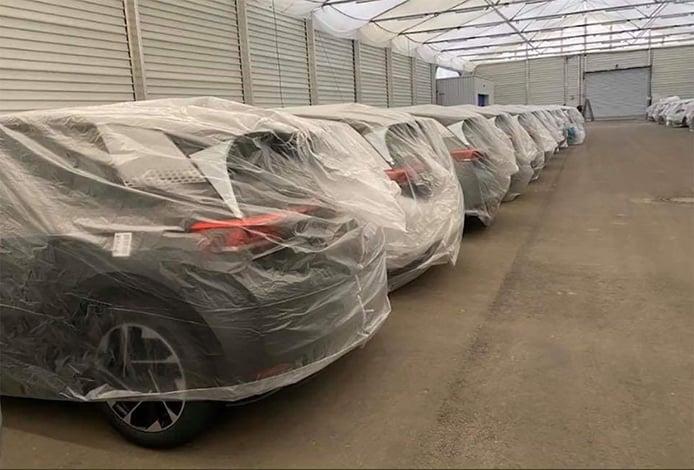 La producción del Volkswagen ID.3 1ST, almacenada en campas a la espera de la actualización