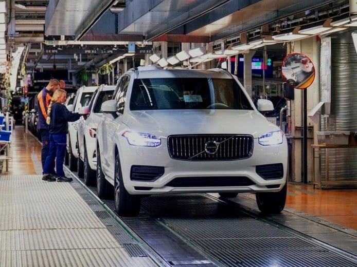 El futuro Volvo XC90 Recharge llegará a finales de 2022: el SUV sueco será eléctrico