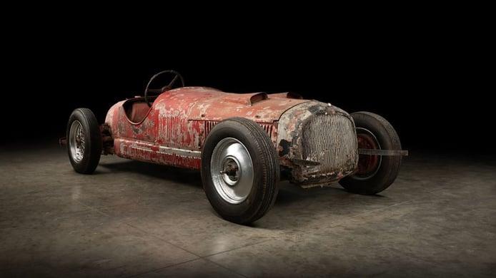 El Alfa Romeo 6C de competición de Mussolini va a ser restaurado
